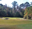 The seventh hole at Hilton Head National Golf Club is short but tricky.