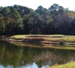 Watch for this pond on the fifth hole at the Golden Bear Golf Club at Indigo Run.