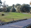 This bridge leads to the ninth green at Rose Hill Golf Club in Bluffton, S.C.