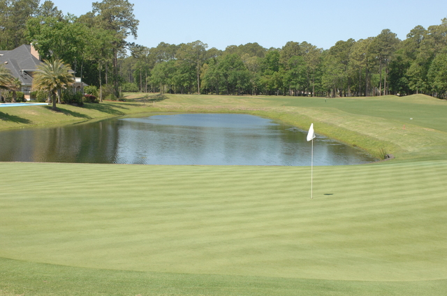 Robert Cupp course at Palmetto Hall Plantation - hole 18