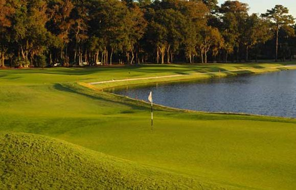 Sea Pines Resort - Heron Point golf course - hole 18