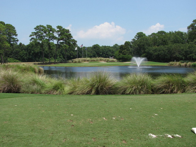 Hilton Head National Golf Club - Player course - hole 8