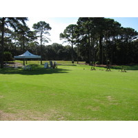There is plenty of room at Port Royal Golf Club's driving range, with an area reserved for instruction and club fitting.