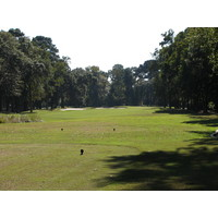 Trees and bunkers abound at the Planter's Row course at Port Royal Golf Club in Hilton Head.