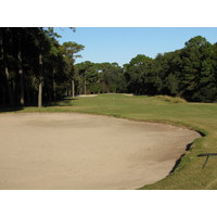 At the Planter's Row course at Port Royal Golf Club, where there's not water, there's sand.
