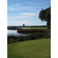 Harbour Town Golf Links's 17th hole combines hazards with beautiful distractions to challenge any golfer.