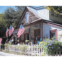 Many of the homes in Bluffton, S.C. date back to the 19th century and have been transformed into markets and cafes.