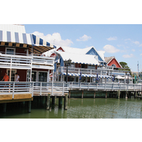 The South Beach Shops are set right on the water on Hilton Head Island.