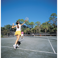 With more than 100 courts, Hilton Head Island is also a favorite tennis destination.