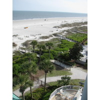 The view south from the Westin Hilton Head Island Resort and Spa features more of the Atlantic Ocean.