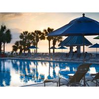 There's plenty of room by the pool at the Hilton Head Marriott Resort and Spa.