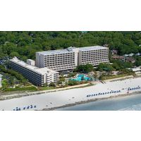 The AAA Four Diamond, oceanfront Hilton Head Marriott Resort and Spa is located in Palmetto Dunes Oceanfront Resort along the Atlantic.