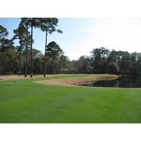 The second hole on the Nicklaus course at Colleton River Plantation Club is best approached from the left.