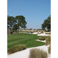 This is one of the par-3 practice holes at Colleton River Plantation Club.