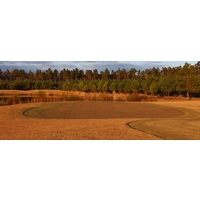 The 14th hole is the longest par 4 at the Golf Club at Hilton Head Lakes in Hardeeville, South Carolina.