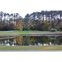 At 218 yards, the 12th hole is the longest par 3 at Rose Hill Golf Club in Bluffton, S.C.