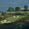 View of the 8th green at The Calibogue & The Haig at Haig Point Club.