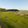 A view of a fairway from West at Belfair Golf Club.