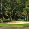 A view of a hole at Moss Creek Golf Club
