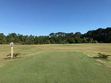A view from a tee at The First Tee of The Lowcountry Golf Course.