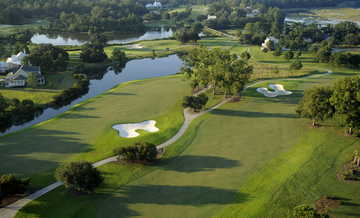 Aerial view of the Oldfield Golf Club