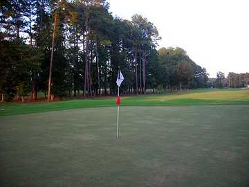 A view of hole #15 at Okatie Creek Golf Club