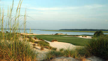 A view of a green at Colleton River Plantation Club