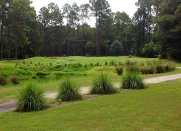 A view of a hole at Lady's Island Country Club