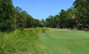 A view from tee #10 at Sea Pines Country Club.